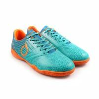 Sepatu Futsal Ortuseight Genesis Tosca Blue Ortrange