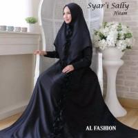sally Qonitah project gamis wanita
