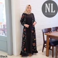 Safe Long set/Maxi dress/gamis muslim/gamis murah/setelan syari wanita
