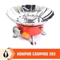 Matougui Kompor Camping Gunung 203 Kompor Kembang Portable Hiking
