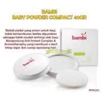 PERA203 BEDAK BAYI BAMBI BABY POWDER COMPACT 40GR