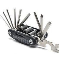 Kunci L Sepeda Obeng Lipat Set Lengkap 15 in 1