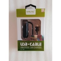 Charger Mobil Altic Samsung/Asus/Oppo/Xiaomi 3.4A C25 -