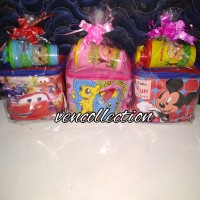 paket souvenir ulang tahun tas kubus dan tumbler