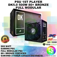 PSU 1ST PLAYER 500 WATT 80 PLUS BRONZE FULL MODULAR MURAH
