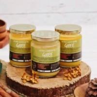 Mazaraat, Organic Ghee Cultured Clarified Butter 200gr Mentega Casein