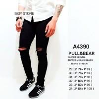 Celana panjang pria/skinny jeans terbaru/ripped jeans fashion
