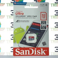 Micro SD Sandisk A1 32GB Speed 98Mbs