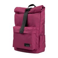 Ready Stock Nama Studios Lite 322 Rolltop Backpack Burgundy Tas Ransel