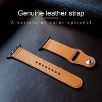 Genuine Leather Strap Apple Watch Band 38 40 42 44mm Series 1 2 3 4