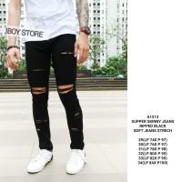Celana jeans pria / Skinny jeans pria / Ripped jeans