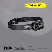Headlamp Senter kepala Petzl Tikkina 150 lumens Black