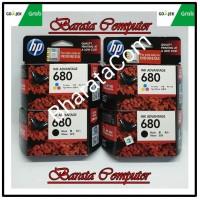 Tinta HP 680 Black / Color Original 100% / Cartridge Printer HP 680