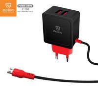 Charger ZAGBOX Original Power Drive 2 USB Z-106 - Hitam