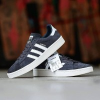 adidas campus original component 100% grey white