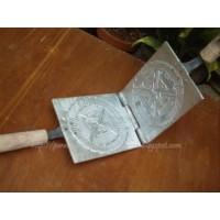 BL-356 cetakan kue semprong / egg roll / gulung / opak jepit / gapit /