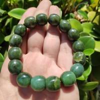 Gelang giok natural nephrite jade aceh 100% asli (5)