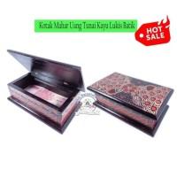 Kotak Mahar Uang Tunai Serahan Tempat Uang Box Seserahan Kayu Batik