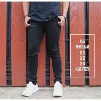 Celana Jeans Hitam Polos / Celana Jeans Hitam / Celana Panjang Pria