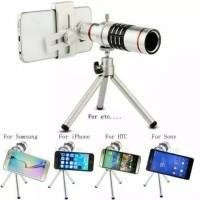 Telezoom/Telescope Mobile Tripod 12X