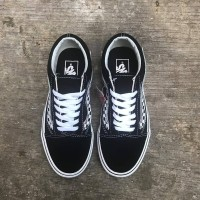 VANS OLD SKOOL SIDE STRIPE V BLACK/WHITE CLASSIC