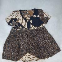 Dress Batik Anak | Dress Batik Baby | Dress Batik lengan