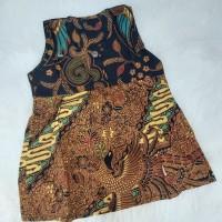 Dress Batik Anak | Dress Batik Baby | Dress Batik Tanpa Lengan