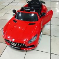 mainan mobil aki Pliko Mercedes AMG GTR pk 8228 n