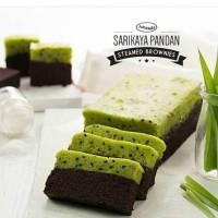 Brownies Kukus Amanda - Sarikaya Pandan