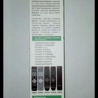 Remot / Remote Tv Lcd Led Polytron Multi / Universal