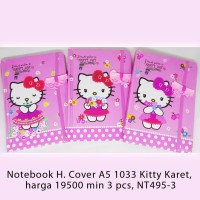 Notebook H. Cover A5 1033 Kitty Karet