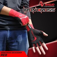 AVELIO IronCross Sarung Tangan Sepeda - Bike Sport Gloves