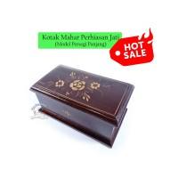 Kotak Mahar Perhiasan Maskawin Jati Ukir | Box Wadah Cantik u/ Cincin