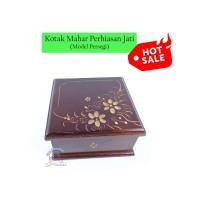 Kotak Mahar Perhiasan Jati Ukir | Box Maskawin Wadah Cantik u/ Cincin
