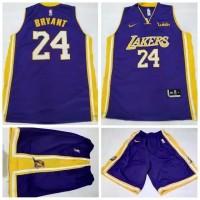 Jersey Stelan Basket NBA Lakers Ungu KOBE BRYANT