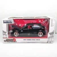 diecast 1997 honda civic type R 1/24 black glossy jada toys