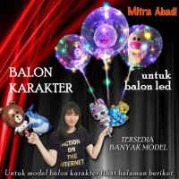 Balon Karakter Kartun Animasi for Balon LED