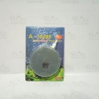air stone bulat pipih / air stone gepeng diameter 8cm