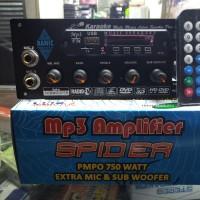 kit aktif speaker mono karaoke mp3 usb