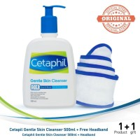 Cetaphil Gentle Skin Cleanser 500ML [Free Headband]