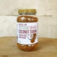 Gula Kelapa Organik BROWN 300gr Mezzaluna Pure Organic Coconut Sugar