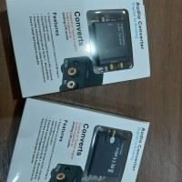 Audio Converter Digital To Analog Toslink RCA Coaxial