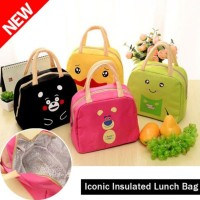 Tas Insulated Lunch Cool Bag Pendingin Penyimpan Asi Susu Kartun