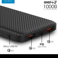 POWER BANK ACMIC C10PRO 10000mAH Quick Charges 3.0 + PD Power Delivery