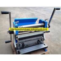 Mesin Potong Tekuk Roll Plat Besi Kombinasi 3 In 1 Shear Bend Roll
