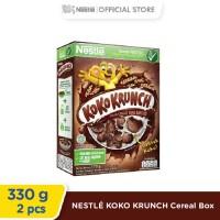 NESTLE KOKO KRUNCH Cereal Box 330g 2 pcs [Special Diskon]