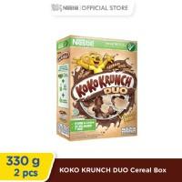 Nestlé KOKO KRUNCH DUO Cereal Box 330g 2 pcs [Special Diskon]
