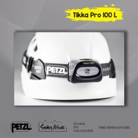 Headlamp Senter kepala Tikka Pro 100 lumens Petzl