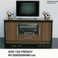 Meja TV Minimalis / SCR 120 Dongsun (Promo Harga)