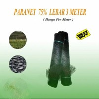 Paranet 75% Lebar 3 Meter Harga Permeter